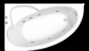 Гидромассажная ванна Bas Сагра L 160х100
