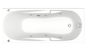 Гидромассажная ванна Bas Нептун 170х70