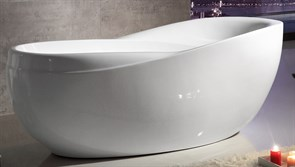 ABBER 180x85,5 Ванна акриловая, высота 72 см