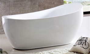 ABBER 180x90 Ванна акриловая, высота 80 см