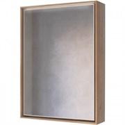 Зеркало-шкаф RAVAL Frame 60 Дуб трюфель с подсветкой, розеткой