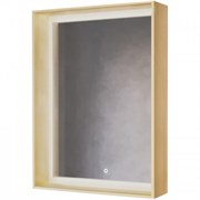 Зеркало RAVAL Frame 60 Дуб сонома с подсветкой сенсор