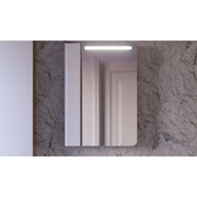 Зеркало-шкаф RAVAL Tetra 60 Белый с подсветкой