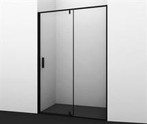 WASSERKRAFT Elbe 74P05 Душевая дверь, ширина 120 см, стекло прозрачное 6 мм, профиль черный