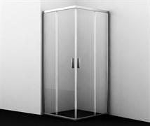 WASSERKRAFT Lippe 45S02 Душевой уголок квадрат, размер 80х80 см, стекло прозрачное 6 мм