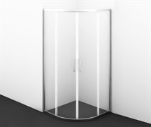 WASSERKRAFT Main 41S01 Душевой уголок сектор, размер 90х90 см, стекло прозрачное 6 мм