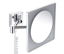 WasserKRAFT K-1008 Зеркало с LED-подсветкой, 3-х кратным увеличением