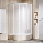 RAVAK SUPERNOVA SKCP4 SABINA Душевой уголок полукруглый с раздвижными дверями, для высокого поддона
