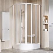 RAVAK SUPERNOVA SKKP6 Душевой уголок полукруглый с раздвижными дверями