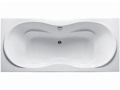 1MARKA Dinamica Ванна прямоугольная, с рамой и панелью, белая, 170x80