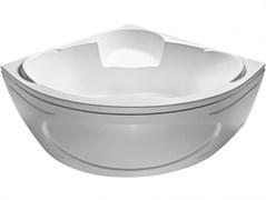 1MARKA Trapani Ванна угловая, с рамой и панелью, белая, 140x140