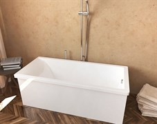 AquaStone Армада 180 Ванна из литьевого мрамора, размеры - 180х80 см, высота- 66 см, глубина - 45 см.