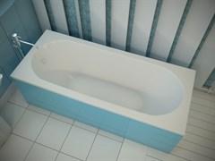 AquaStone Наоми 170 Ванна из литьевого мрамора, размеры 170х75 см, высота - 60 см, глубина - 42 см