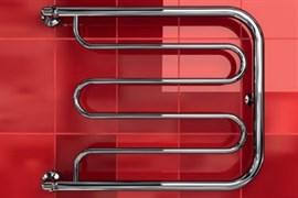 """Фокстрот D 1"""" DVEEN (ДВИН) Полотенцесушитель модель D, труба из нержавеющей стали, водяной"""