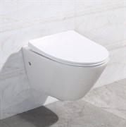 BELBAGNO Alpha Унитаз подвесной безободковый, сиденье приобретается отдельно