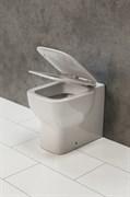 BELBAGNO Vaso Чаша унитаза приставная, P-trap, сиденье приобретается отдельно