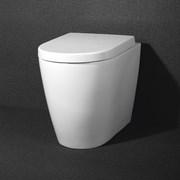 BELBAGNO Marino Чаша унитаза приставного безободкового P-trape, сиденье приобретается отдельно
