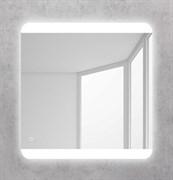 BELBAGNO Зеркало со встроенным светильником и кнопочным выключателем, 12W, 220-240V, 700x30x700