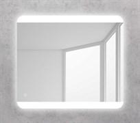 BELBAGNO Зеркало со встроенным светильником и кнопочным выключателем, 12W, 220-240V, 800x30x700