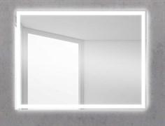 BELBAGNO Зеркало со встроенным светильником и кнопочным выключателем, 12W, 220-240V, 600x30x800
