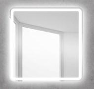 BELBAGNO Зеркало со встроенным светильником и кнопочным выключателем, 12W, 220-240V, 800x30x800