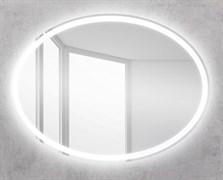 BELBAGNO Зеркало со встроенным светильником и кнопочным выключателем, 12W, 220-240V, 750x30x900