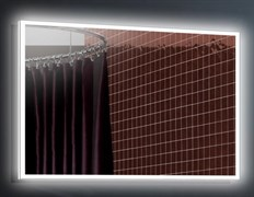 ESBANO Led Зеркало, ШВГ: 120x70х5, LED-подсветка, антизапотевание